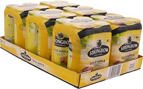 Strongbow Cider Gold Apple  Cider, 24x440ml