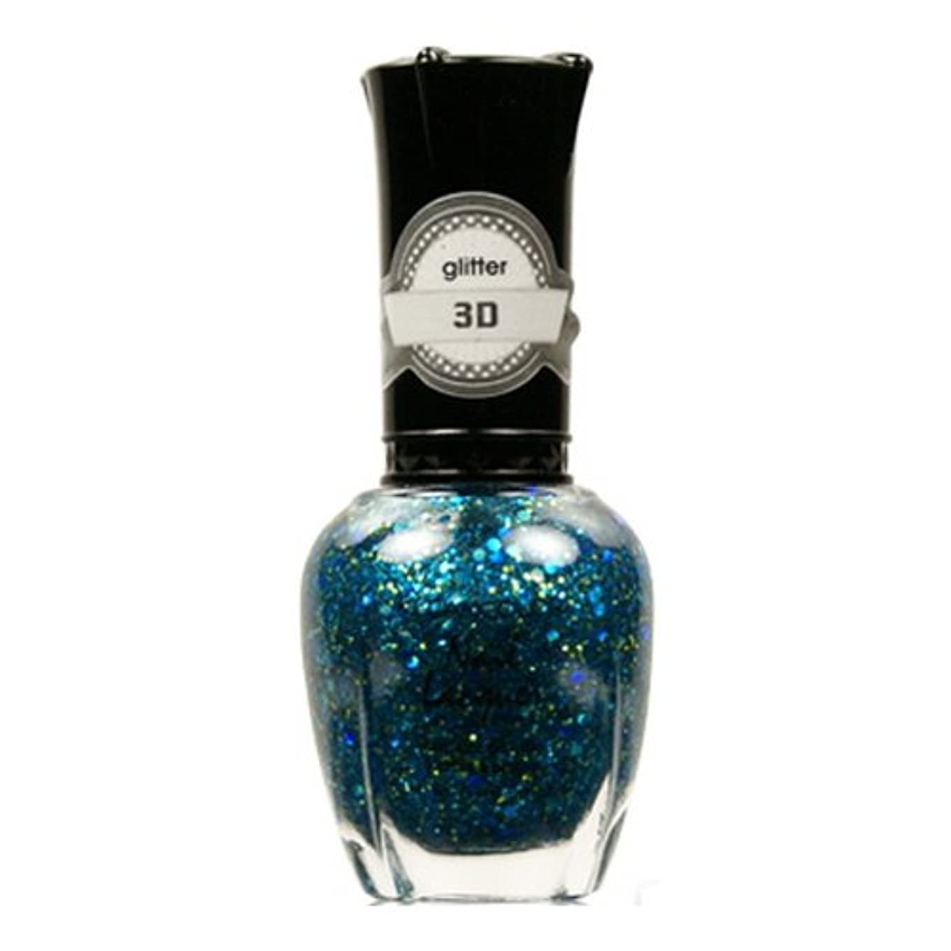 メトリック政治的同じKLEANCOLOR 3D Nail Lacquer - Luv U TEAL I Find Someone Better (並行輸入品)