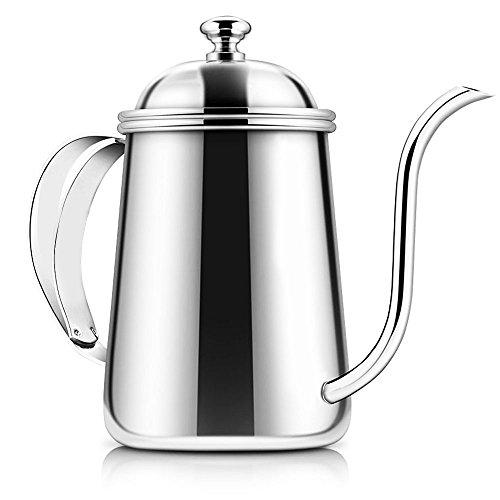 コーヒードリップケトル Kitclan ドリップポット 細口ポット ステンレス製 お茶などにも対応 650ML