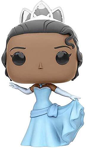cheaakk Funko Pop Princess y Tiana Figura Figura Q Versión Tiana Doll Princess Figura Figura Colección Juguete, Ornamentos Exquisita Colección