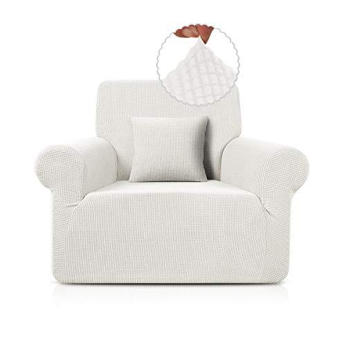 Taococo Funda para sofá de jacquard, elástica, de elastano, en diferentes tamaños y colores