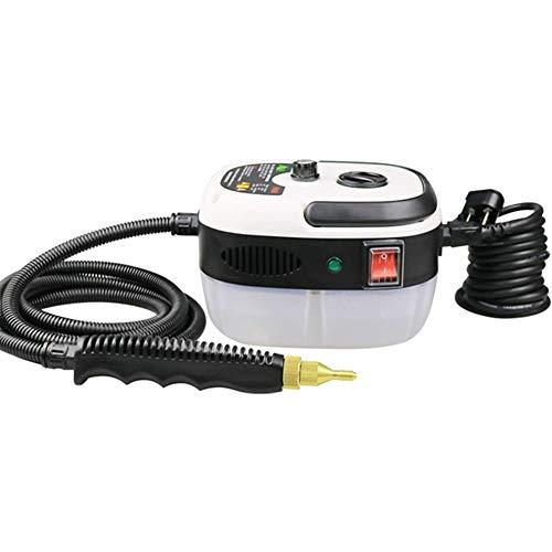 SYOSY Limpiador de Vapor eléctrico Máquina de Limpieza a Vapor portátil de Alta Temperatura y presión para Limpiar Utensilios de Cocina/Aire Acondicionado/Alfombra/Coche