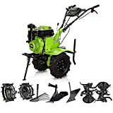 Motoazada Diesel con transmisión directa Strong Machine 7 CV | Potencia 7 cv | 246cc | 3600 rpm | Diesel | Capacidad del tanque 3,6L
