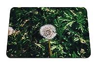 26cmx21cm マウスパッド (タンポポの花草) パターンカスタムの マウスパッド