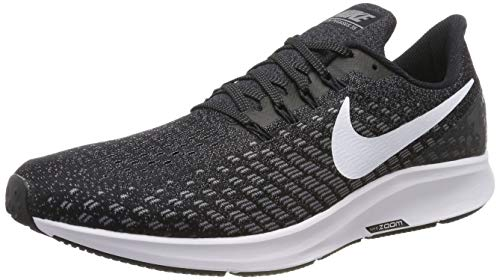 Nike Air Zoom Pegasus 35 (N), Zapatillas de Running Hombre, Negro (Black/White/Gunsmoke/Oil Grey 001), 52.5 EU