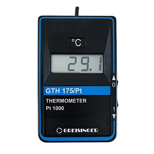 GHM Greisinger GTH 175 Temperatur-Messgerät inkl. Einstechfühler GTH175 PT-E, 9 V