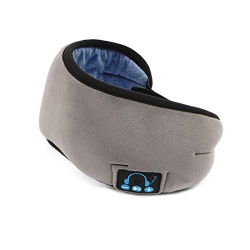Sleep Headphones, Sleep Eye Mask Bluetooth 5.0, música y altavoces ultrafinos perfectos para dormir, viajes aéreos, meditación y relajación,C