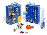 Motoring Essentials Kit d'ampoules de rechange comprenant ampoules H1 H4 H7 et fusibles