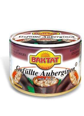 Baktat Gefüllte Auberginen mit Reis 350 g