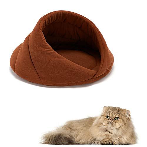 Hundehöhle Katzenkörbchen, Katzen Kuschelhöhle, Katzenbett Waschbar Katzenhöhle Hundehöhle Hundebetten Für Mittlere Hundekissen Kleine Hunde Hund Bett Haustier Schlafsack Welpenbett