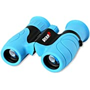 Binoculars for Kids High-Resolution 8x21, Gift for Boys & Girls Shockproof Compact Kids Binoculars for Bird Watching, Hiking, Camping, Travel, Learning, Spy Games & Exploration