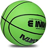 Stylife 5inch Mini Basketball for Kids, Inflatable Ball Environmental Protection Material,Soft and...