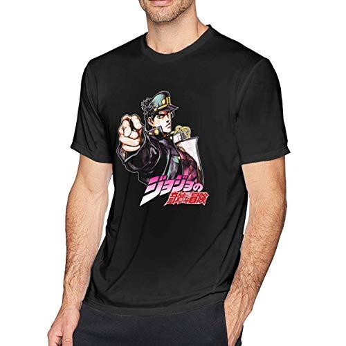 engzhoushi Jojos Biz-arre Adve-nture Herren T-Shirt Cotton Fashion Kurzarm T-Shirt