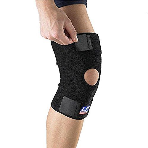 Lp Support 758 Kniebandage - Kniegelenkstütze - Knieschoner - Knieschutz - Kniestütze - Sportbandage, Größe:Universalgröße, Farbe:schwarz