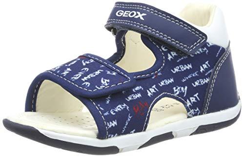 Geox B Sandal Tapuz Boy a, Sandalias para Bebés, Azul (Navy/White C4211),...