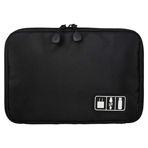 zhibeisai Home Organizer Electronic Bag Hard Drive Organizers Earphone Cables USB Flash Drives Travel Case Digital Storage Bag