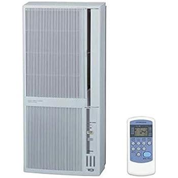 コロナ 窓用エアコン(冷暖房兼用・おもに4.5~7畳用 シェルホワイト)CORONA CWH-A1815-WS