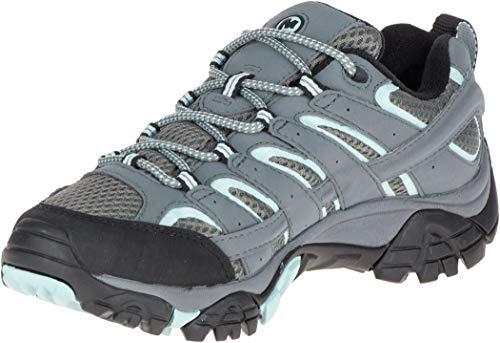 Merrell MOAB 2 GTX, Zapatillas de Senderismo Mujer, Gris (Sedona Sage), 38.5 EU