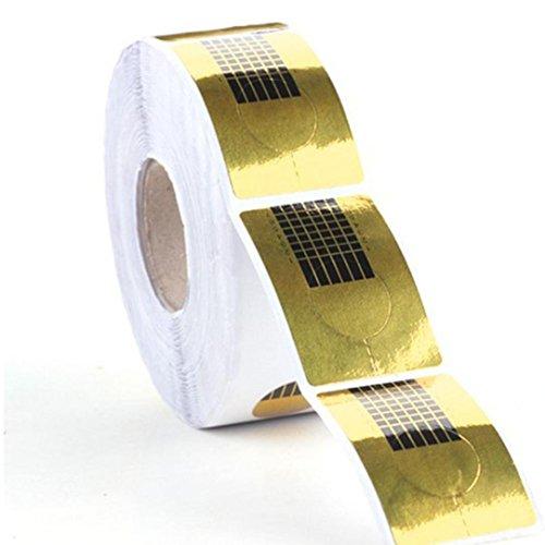 Demiawaking - 100 modules pour extensions d'ongles - Nail Art - Gel UV acrylique