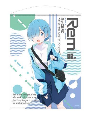 Re:ゼロから始める異世界生活 ※2期 レム 100cmタペストリー ストリートファッションVer.