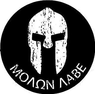 MOLON LABE Battle Helmet - (3 pack) Full Color Printed - (size: 2