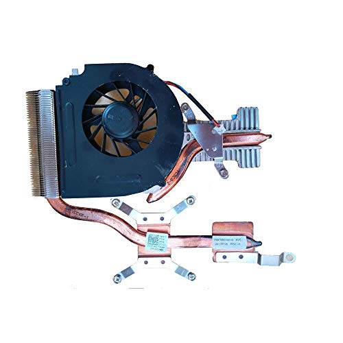 RTDpart Disipador de Calor y Ventilador para portátil para DELL Studio 15 1555 1557 1558 PP39L FBFM8014010 0Y140J Y140J Nuevo