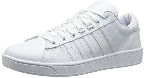 K-Swiss Men's Hoke CMF Shoe, White/White, 8 M US