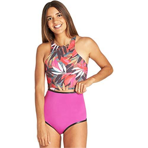 Billabong Damen Wetsuit Top Einteiliger Badeanzug, Tropical, X-Small