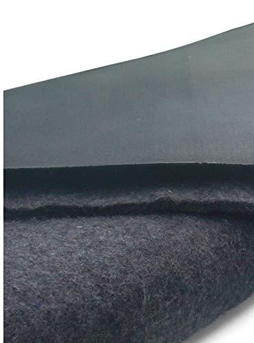 Firestone EPDM Kautschuk-Teichfolie Pondgard 1mm in 7,62m x 4m mit Vlies 500g/qm
