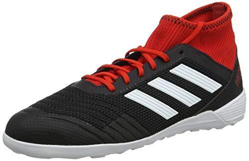 adidas Herren Predator Tango 18.3 In Fußballschuhe, Schwarz (Cblack/Ftwwht/Red Cblack/Ftwwht/Red), 42 EU