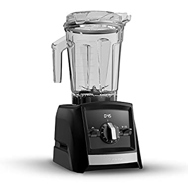 Vitamix A2300 Ascent Series Smart Blender, Built-In Wireless Connectivity, Professional-Grade, Black