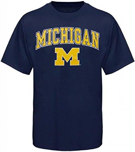 Universidad de Michigan Apparel Camiseta Sudadera con capucha y capucha Wolverines Ropa, azul, xx-large