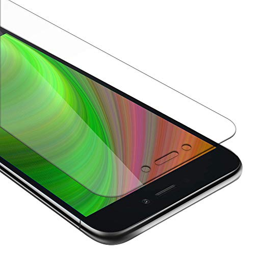 Xiaomi RedMi के लिए Cadorabo प्रोटेक्टिव फिल्म हाई ट्रांसपैरेंसी गो - टेम्पर्ड ग्लास फॉर डिस्प्ले 0,3mm विथ राउंडेड कॉर्नर
