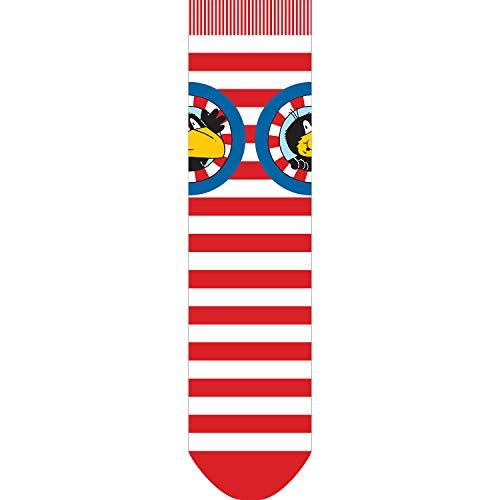 Der kleine Rabe Socke Kinder Jungen Mädchen Bekleidung Socken Logo (23/26)