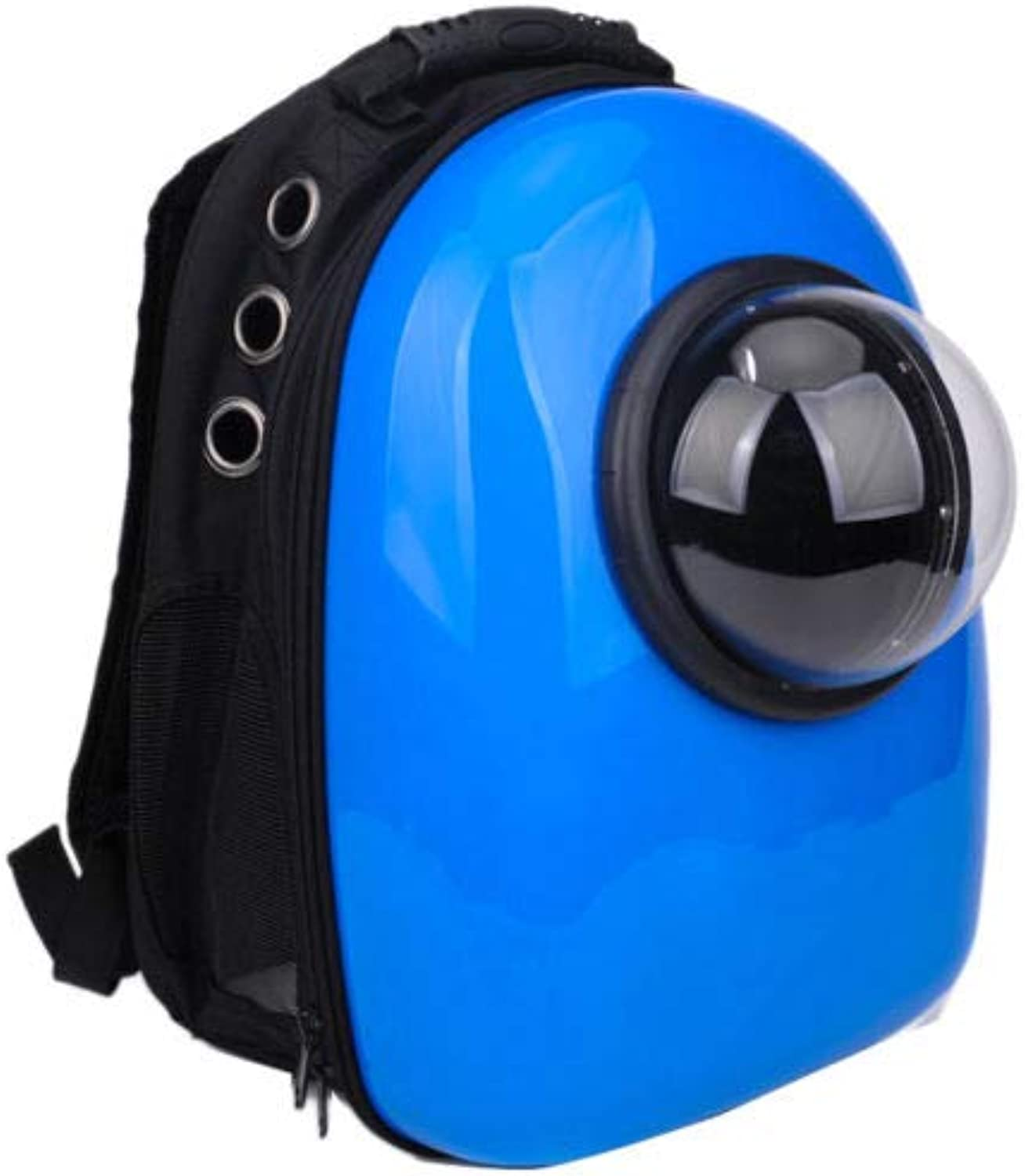 FidgetGear Pet Portable Carrier Space Capsule Backpack Bubble Pet Carriers Traveler Bag 1  bluee Bubble Pet Carriers