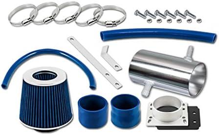 Velocity Concepts Blue Short Ram Air + 92-96 Kit Filter C Intake Cheap sale Bargain
