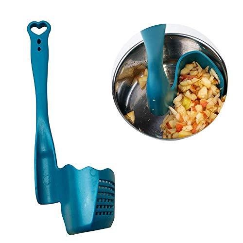 SUT Spatola Rotante A Spatola, Attrezzo per La Lavorazione degli Alimenti/Strumento per L'alimentazione del Frullatore, per Bimby, TM5, TM6, TM31 Z4,Blue