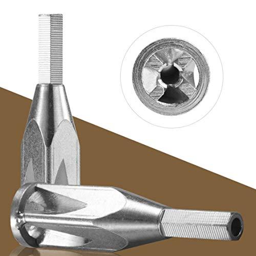 2.5-4 Quadratisches automatisches Abisolieren Verdrehen der Maschine Abisolierzange Twister-Kabel Drahtverbindungswerkzeuge Schälen für Bohrmaschine - Silber