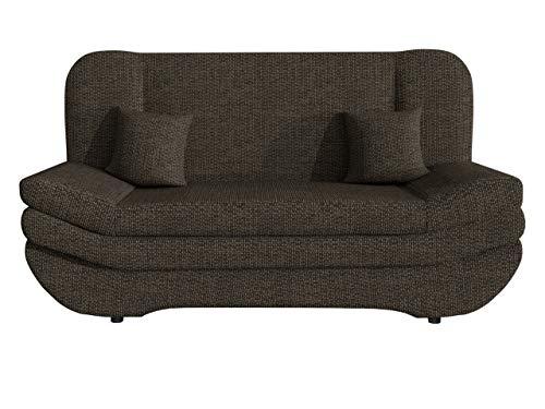 Sofa Weronika mit Bettkasten und Schlaffunktion, Schlafsofa, Große Farb- und Materialauswahl, Couch vom Hersteller, Wohnlandschaft (Majorka 02.)