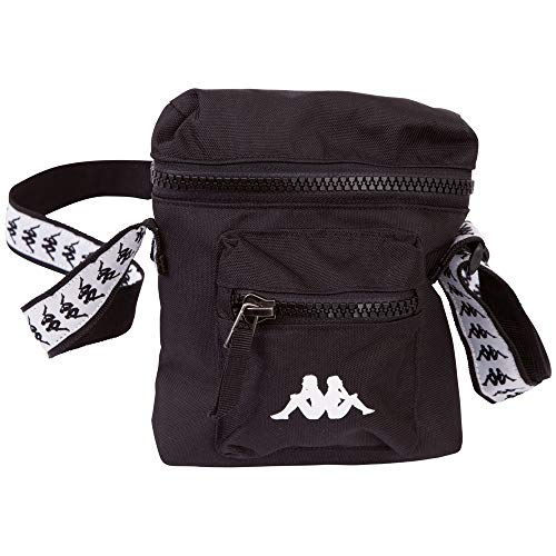 Kappa Godac Shoulder Bag 307104-19-4006; Unisex Sachet; 307104-19-4006; Black; One Size EU (UK)