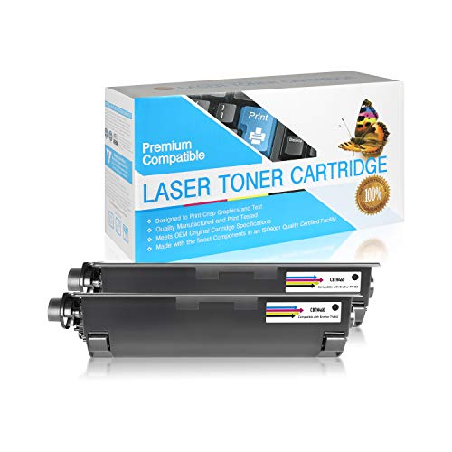 SuppliesOutlet Compatible Toner Cartridge Replacement for Brother TN430 / TN460 / TN530 / TN560 / TN570 / TN6300 / TN7600 (Black,2 Pack)