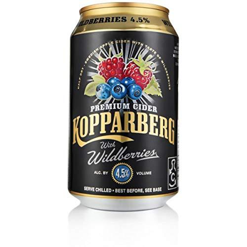 Kopparberg Wildberries 4,5% - Fruchtiger Cider mit Waldbeerengeschmack (1)