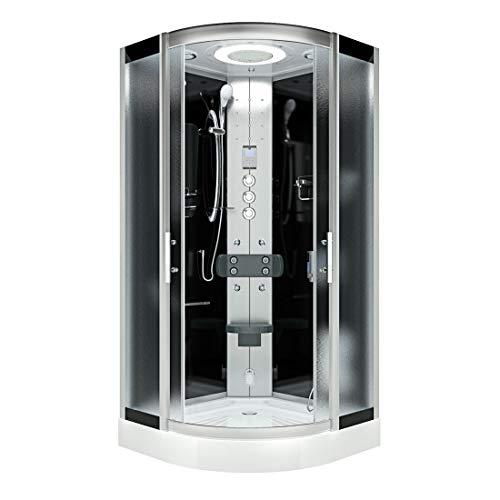 AcquaVapore DTP8046-6313 Dusche Dampfdusche Duschtempel Duschkabine -Th. 100 XL OHNE 2K Scheiben Versiegelung
