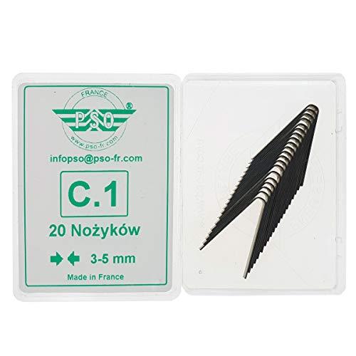 PSO Rillfit - Cuchilla de Corte para neumáticos C1 3-5mm