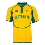 Rugby Nation - Camiseta deportiva - para hombre Amarillo Australia XLarge