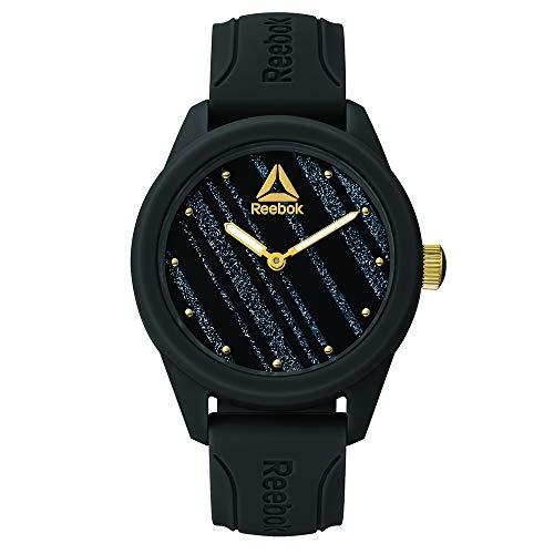 REEBOK Damen Analog Quarz Uhr mit Silikon Armband RD-SPR-L1-PBIB-B2
