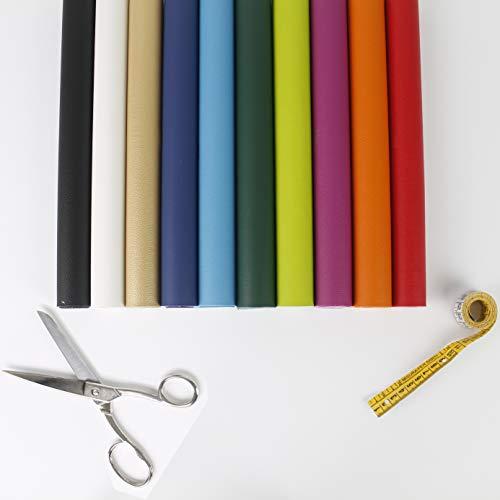 Paquete de retales de ecopiel, cortes de piel sintética de 70 x 30 cm, aprox., paquetes de 5 o 10 unidades, varios colores y diseños para decoración, patchwork, manualidades