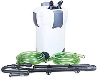 SunSun-China HW-304B 5-Stage External Canister Filter with 9-watt UV Sterilizer, 525 GPH