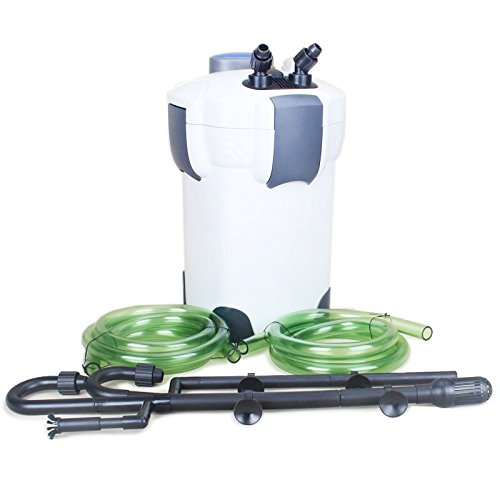SunSun HW-304B 5-Stage External Canister Filter with 9W UV Sterilizer, 525 GPH