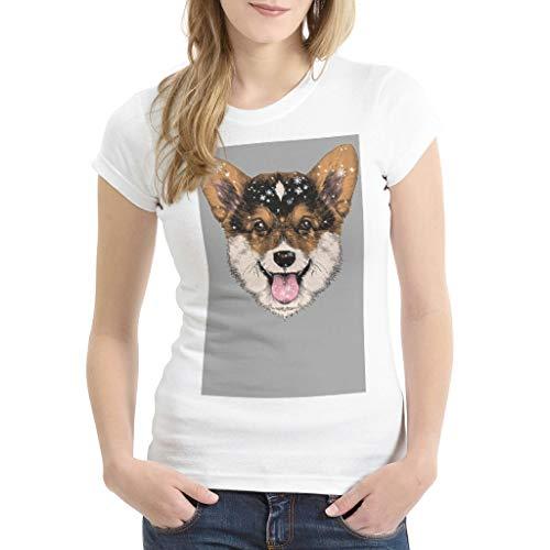 Leicht Mehrere Muster Kurzärmliges T-Shirt mit Arbeitskleidung für Unisex Dark Gray Large